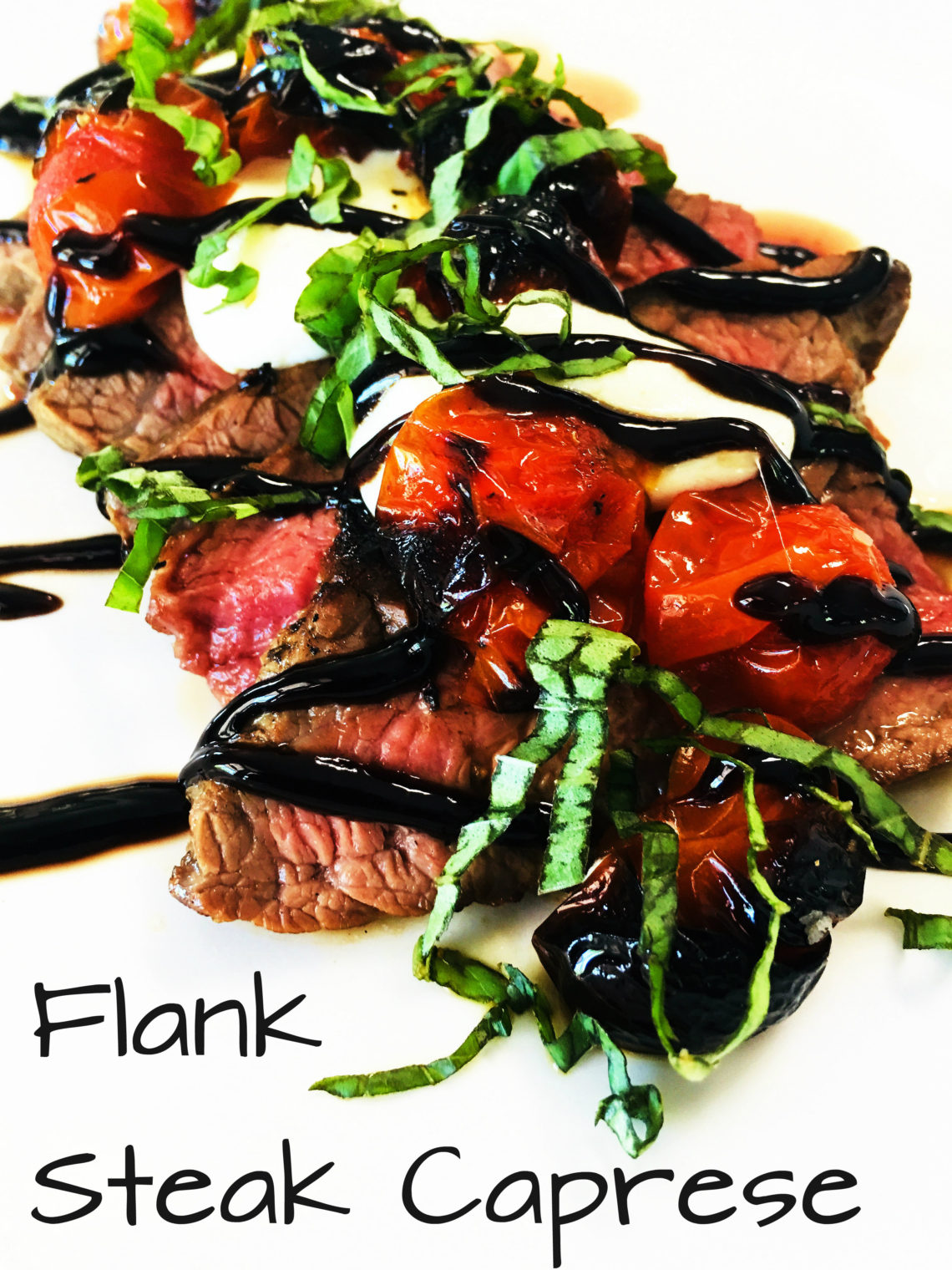 Flank Steak Caprese Cooks Well With Others