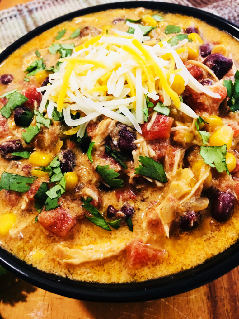 Crock Pot Chicken Enchilada Soup Cooks Well With Others